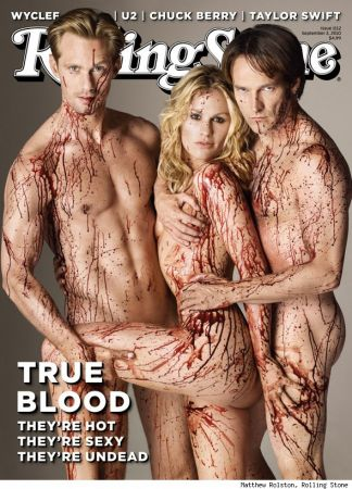 La cover di Rolling Stone dedicata a True Blood