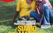 Baci tra Francesco Facchinetti e Alessia Marcuzzi