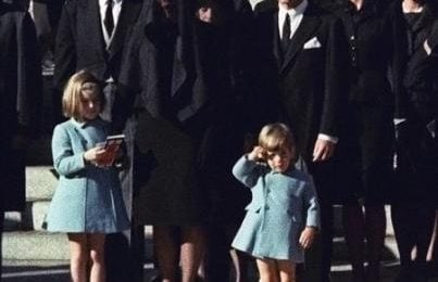 The Kennedys, girato il funerale di JFK (foto)