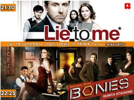 Bones, la quinta stagione riparte in chiaro su Rete 4 alle 22.25