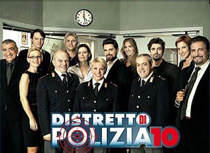 Ascolti tv 12 settembre 2010, Distretto di Polizia 10 batte Miss Italia 2010