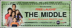 The Middle, seconda stagione promossa dai coupon