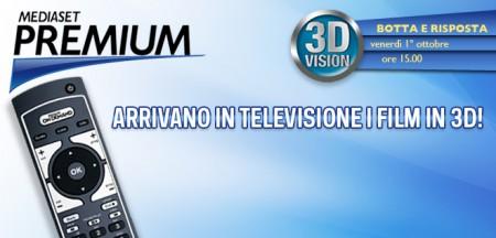 Mediaset Premium lancia i film in 3D su Premium On Demand