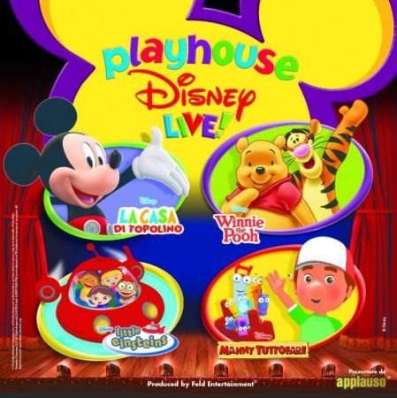 Playhouse Disney Live, le date del nuovo show Disney