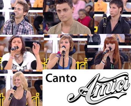 Amici 10, i titolari di Canto