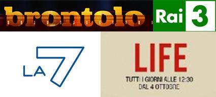 Life (La7) e Brontolo (RaiTre), due modi di raccontare l'Italia di oggi