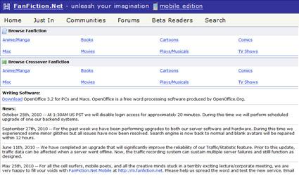 fanfiction fanfiction net