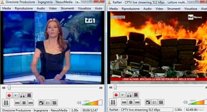rai streaming vlc rai news tg