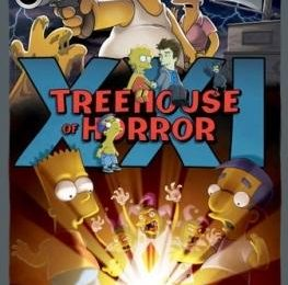Simpson, foto e video di Treehouse of Horror XXI con Daniel Radcliffe e Hugh Laurie
