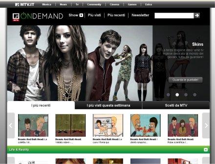 Mtv diventa On Demand con contenuti non musicali
