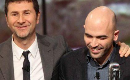 Vieni Via con Me, Ruffini spera in un bis e ringrazia Fazio e Saviano