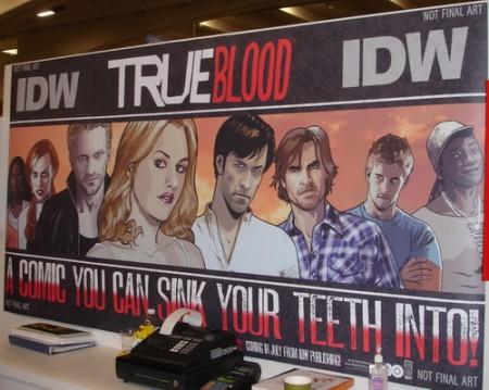 Nel 2011 i fumetti completi di True Blood; casting per The Event, Mr Sunshine e pilot