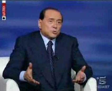 Matrix, stasera ospite Silvio Berlusconi