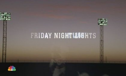 Friday Night Lights, gli episodi della prima stagione