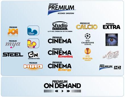 Programmi Mediaset Premium: una guida a tutti i canali