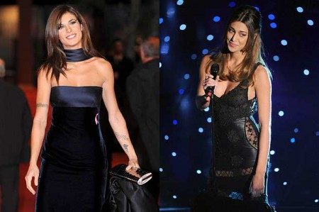 Web: Belen Rodriguez ed Elisabetta Canalis regine del 2010