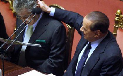 Governo Berlusconi, la fiducia in tv