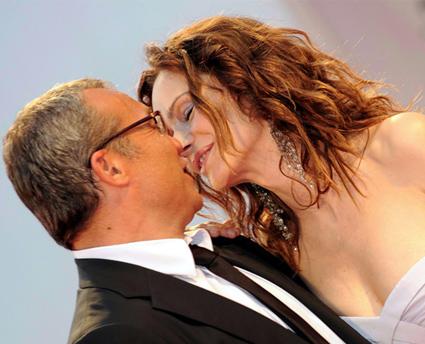Claudio Amendola e Francesca Neri finalmente sposi