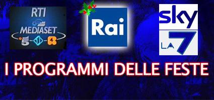 Natale 2010 in tv: i palinsesti Rai, Mediaset e Sky