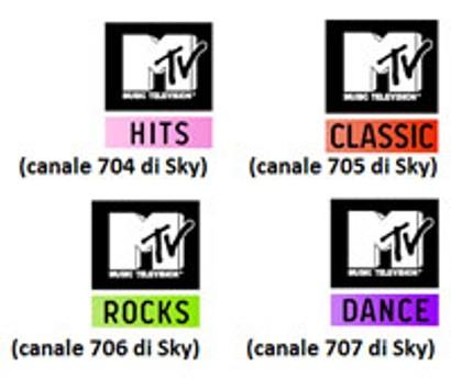 Mtv cambia nomi e contenuti ai suoi canali su Sky