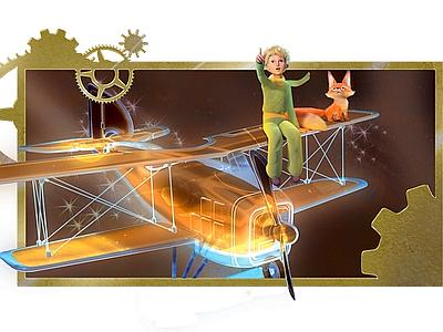 piccolo principe, anteprima cartoon 3d rai tre
