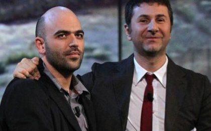 Fazio e Saviano, personaggi dell'anno con Obama e il Papa