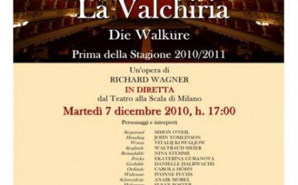 La Prima alla Scala, con La Valchiria, su Rai 5