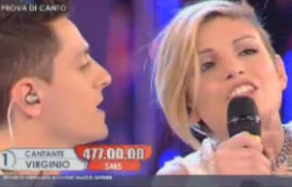 Amici10 duetti Emma Marrone Virginio