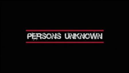 Persons Unknown, gli episodi della prima stagione