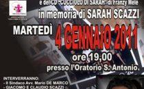Calendari 2011, Sarah Scazzi e il tronista Giovanni Conversano