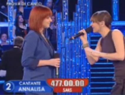 amici10, duetto Amoroso Scarrone