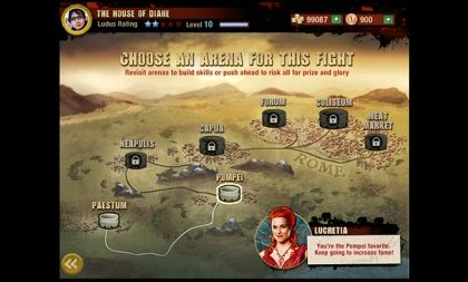 Spartacus: Blood and Sand, Starz lancia il social game su Facebook