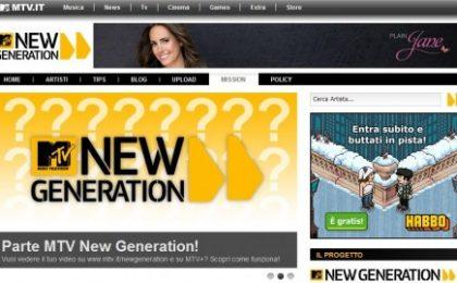 Mtv a caccia di nuovi talenti con New Generation