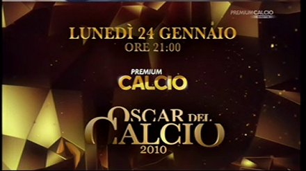 Mediaset Premium, gli Oscar del Calcio 2010 alle 21 con Sara Carbonero