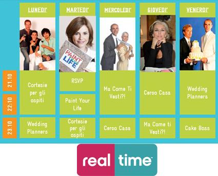 Real Time digitale terrestre: i programmi più divertenti