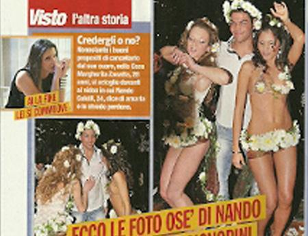 GF 11, l'ultima foto scandalo di Nando