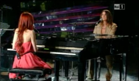 Nathalie LAura duetto sanremo2011