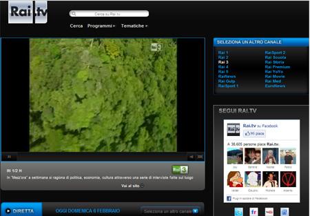 Rai 3 streaming live