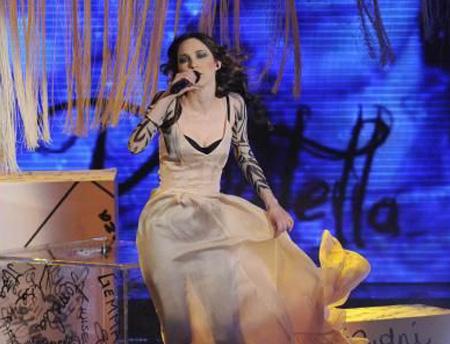 Sanremo 2011: Nathalie Giannitrapani, Vivo Sospesa (Testo)