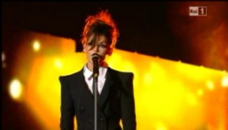 Sanremo2011 Anna Tatangelo primaserata