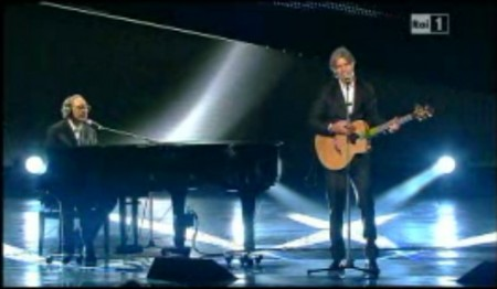 Sanremo2011 Battiato Madonia prima serata
