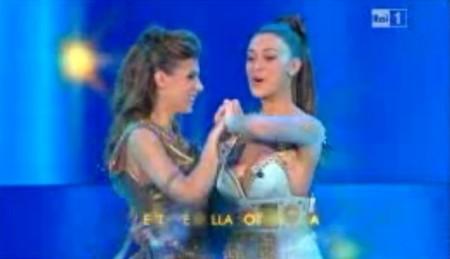 Sanremo2011 belen canalis quarta serata