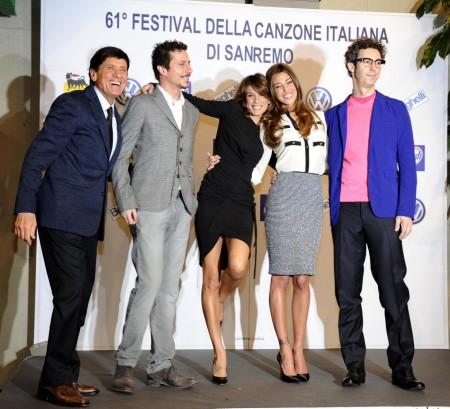 Sanremo 2011 teme Ballarò, Annozero e la Champions