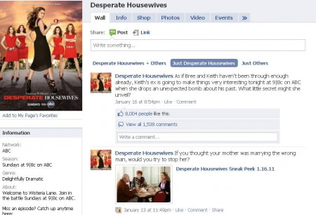desperate housewives official