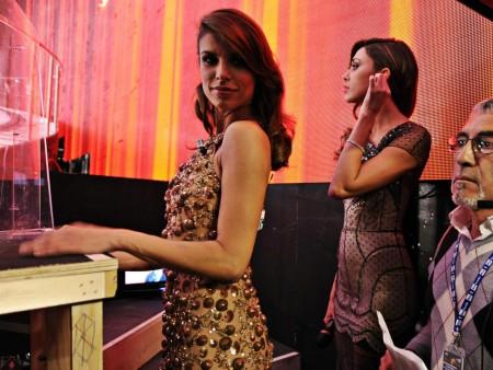 """Sanremo 2011, Elisabetta Canalis: """"Soddisfatta del mio Festival"""""""