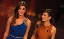 Sanremo 2011, i look di Belen ed Elisabetta