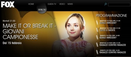 Make It or Break It, la seconda stagione in prima tv su Fox