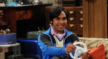 raj the big bang theory