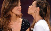 Belen-Canalis, bacio saffico a Sanremo 2011