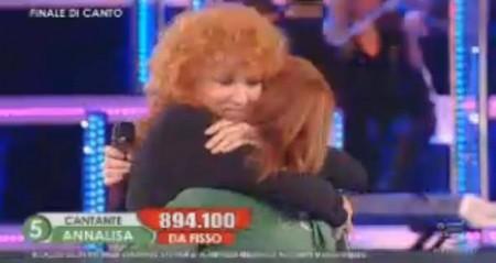 Amici10 annalisa Fiorella Mannoia